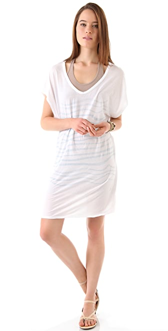 SUNDRY U Neck Dress