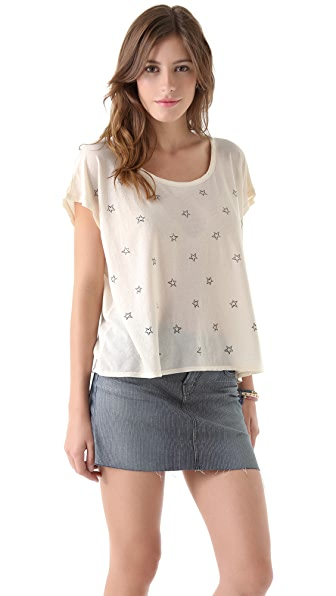 SUNDRY Star Square Tee