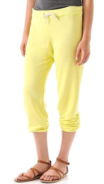SUNDRY Cropped Vintage Sweatpants
