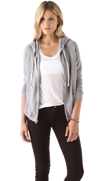 SUNDRY Zip Hoodie