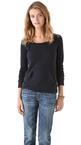 SUNDRY Pocket Top