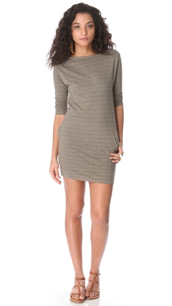 SUNDRY 3/4 Sleeve Dress