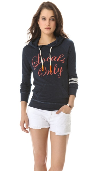 SUNDRY Locals Only Pullover Hoodie