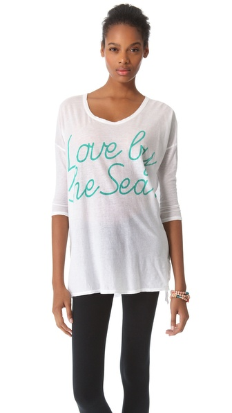SUNDRY Love by the Sea Top