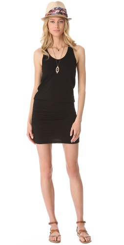 Shop SUNDRY Ruched Tank Dress and SUNDRY online - Apparel,Womens,Dresses,Day, online Store