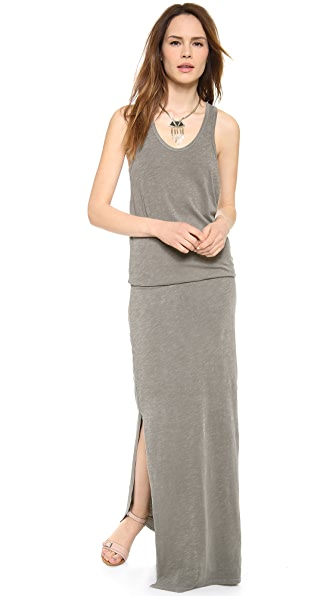 SUNDRY Sleeveless Maxi Dress