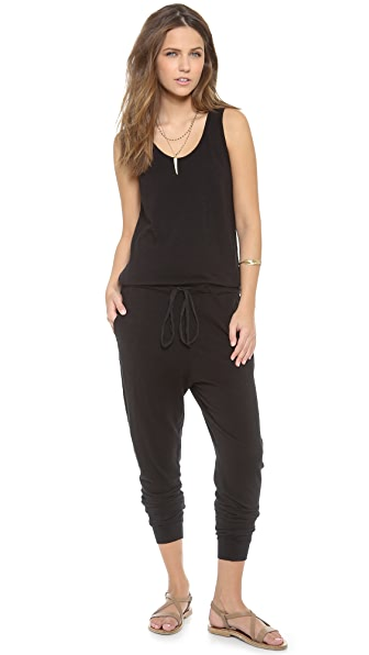 SUNDRY Sleeveless Jumpsuit