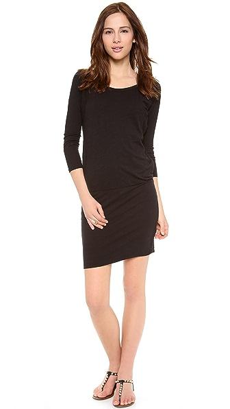 Kupi SUNDRY haljinu online i raspordaja za kupiti Sundry Long Sleeve Dress - Black online