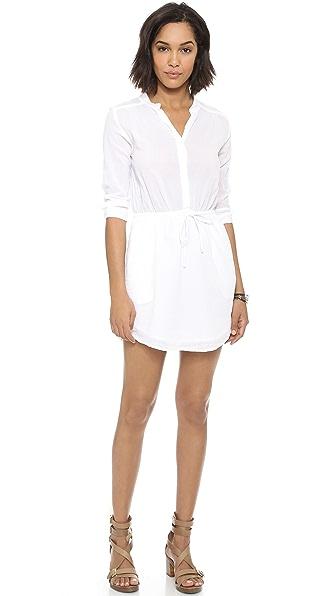 SUNDRY Henley Dress