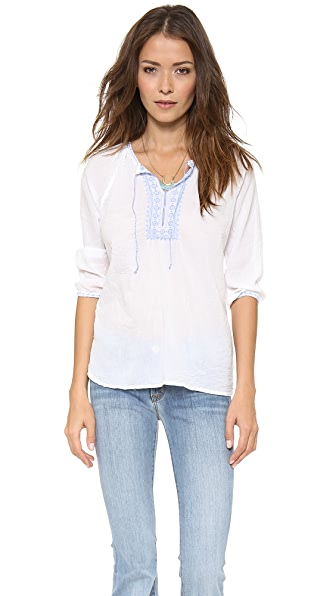SUNDRY Embroidery Shirt