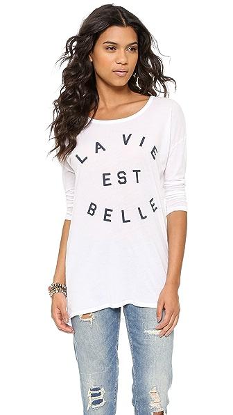 SUNDRY La Vie Est Belle Tunic