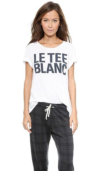 SUNDRY Le Tee Blanc