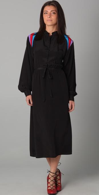 Sunner Inset Shoulder Dress