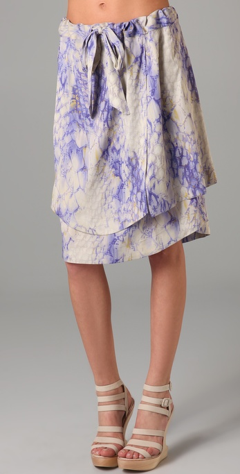 SUNO Detached Panels Skirt