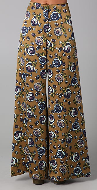 SUNO Flowy Wide Leg Pants