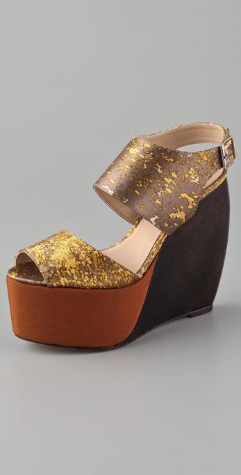SUNO Estrella Platform Sandals