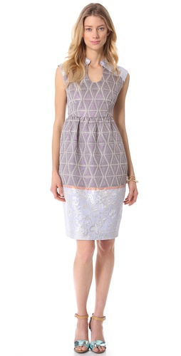 Shop SUNO Round Neck Tulip Dress and SUNO online - Apparel, Womens, Dresses, Work,  online Store