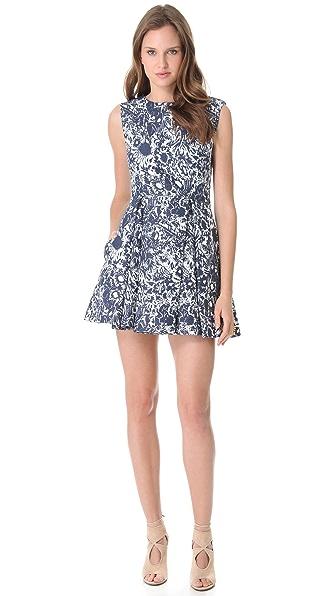 SUNO Deep Pleat Dress