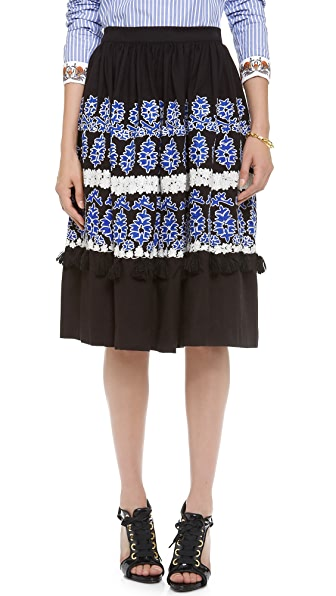 SUNO High Waisted Skirt