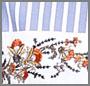 Handkerchief Floral Multi