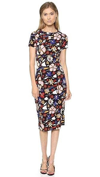 SUNO Short Sleeve Dress