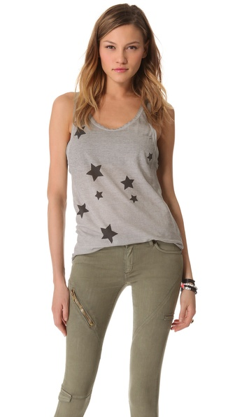 Superfine Star Print Tank Top