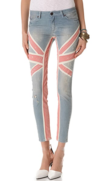 Superfine Union Jack Jeans