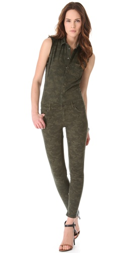 Shop Superfine Camouflage Jumpsuit and Superfine online - Apparel,Womens,Bottoms,Jeans, online Store