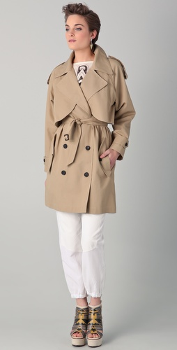 Surface to Air Wrench Trench Coat