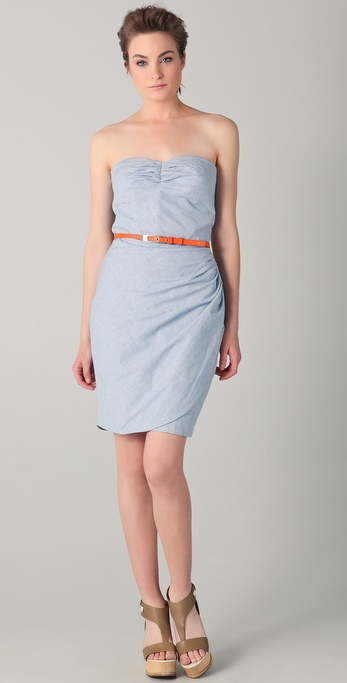 Surface to Air Vienna Strapless Dress