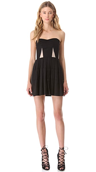Surface to Air Tri Bustier Dress