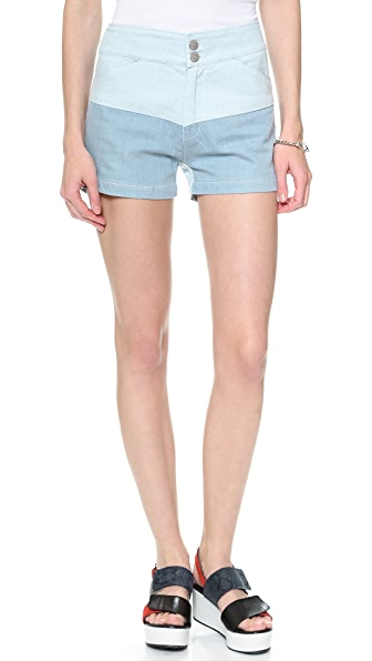 Surface to Air Row Denim Shorts