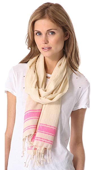 Surf Bazaar Cotton Stripe Pareo Scarf