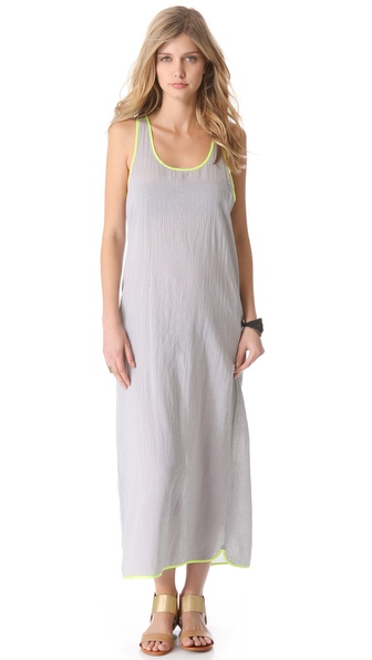 Surf Bazaar Tank Cover Up Maxi Dress