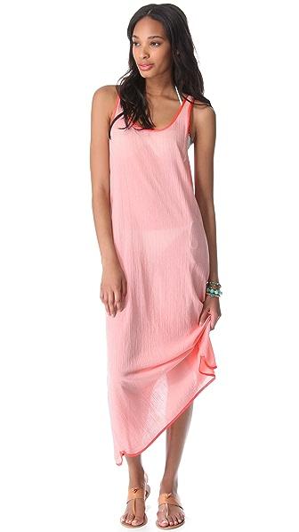 Surf Bazaar Tank Cover Up Maxi Dress