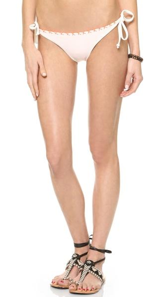 bazaar|双面穿钩针编织系带比基尼式泳裤