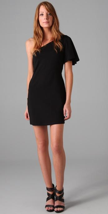 Susana Monaco One Shoulder Dress