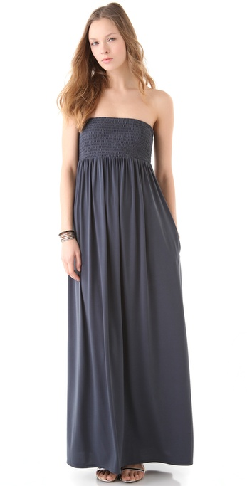 Susana Monaco Flowy Tube Maxi Dress