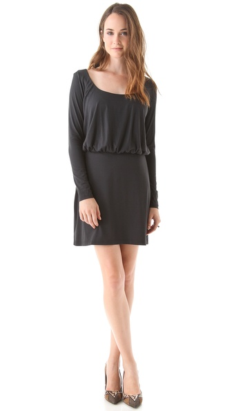 Susana Monaco Blouson Sleeve Dress