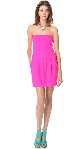 Susana Monaco Tube Pleat Dress