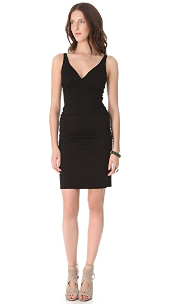 Susana Monaco Ruched Tank Dress