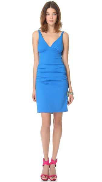 Susana Monaco Ruched Tank Dress