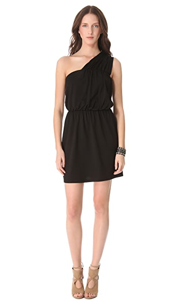 Susana Monaco One Shoulder Dress