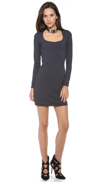 Susana Monaco Long Sleeve Dress
