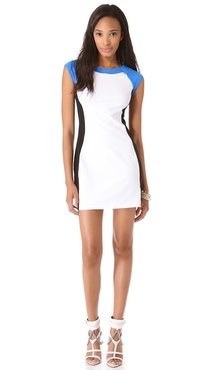 Susana Monaco Malai Colorblock Dress