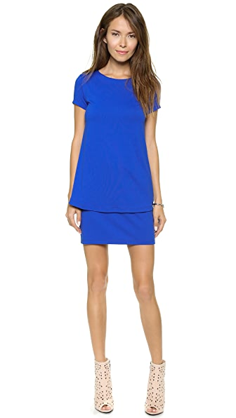 Susana Monaco Bri Layered Shift Dress