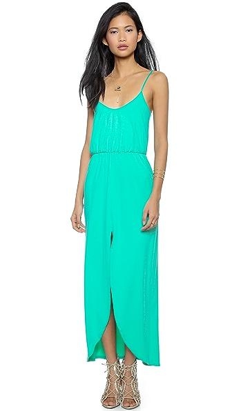 Kupi Susana Monaco haljinu online i raspordaja za kupiti Susana Monaco Emilia Maxi Dress - Beach Glass online