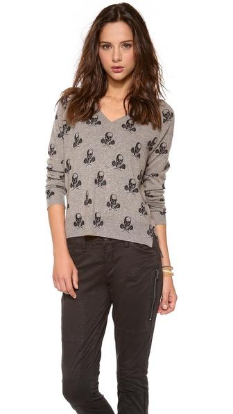 360 SWEATER Rosa V Neck Sweater