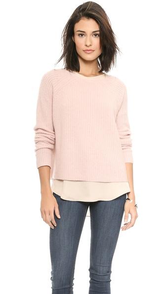 360 SWEATER Scotti Cashmere Crop Sweater