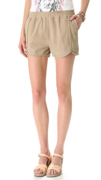 Swildens Igue Suede Shorts